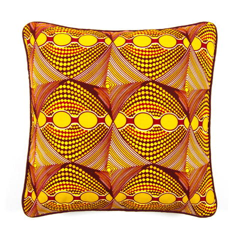 African Print Cushion - ILLUSION