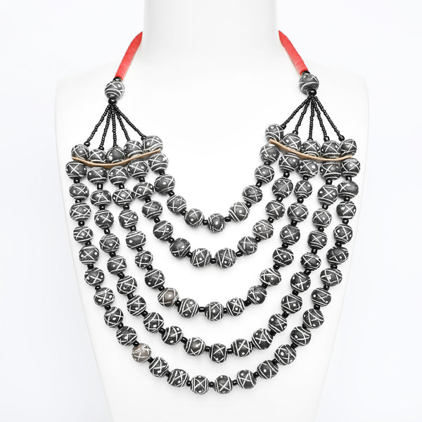 Terracotta Necklace - Maimou