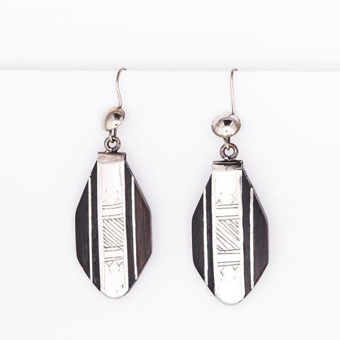 Tuareg Ebony Earrings No.16