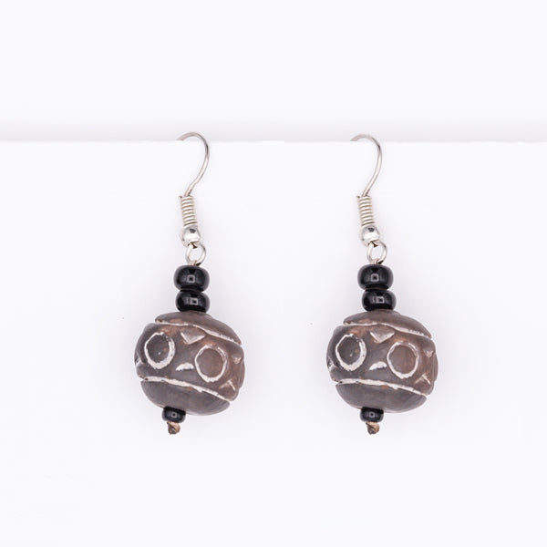 Terracotta Earrings No.1