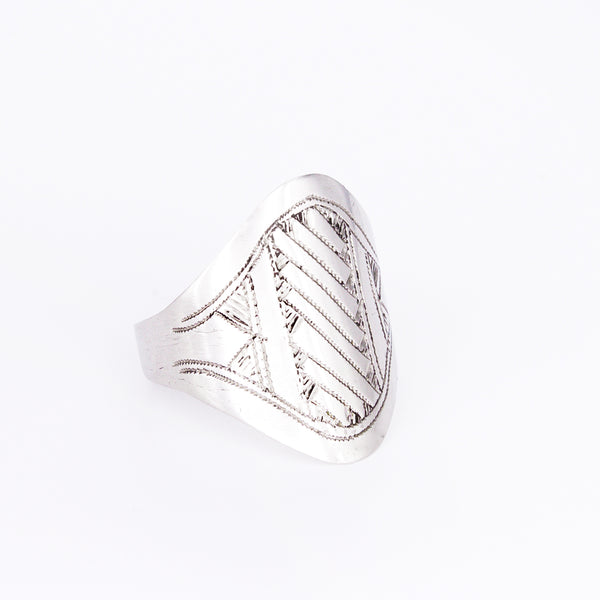 Tuareg Engraved Ring No.4 - Size U