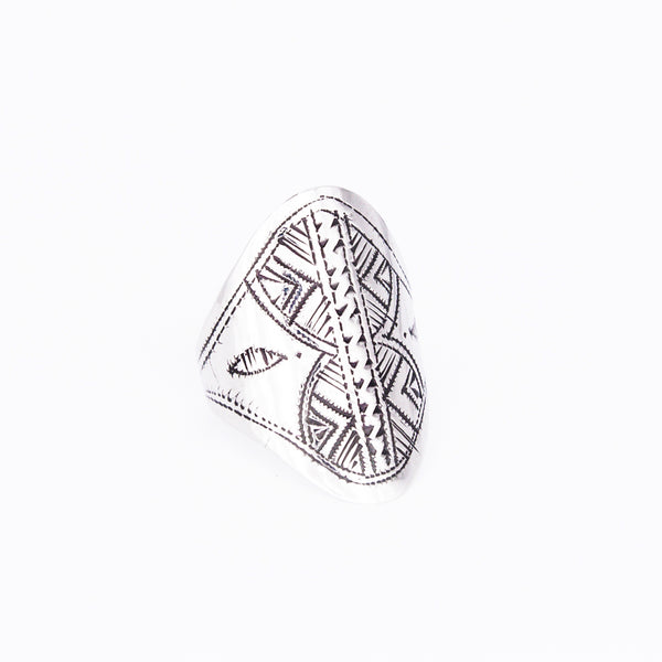 Tuareg Engraved Ring No.6 - Size P