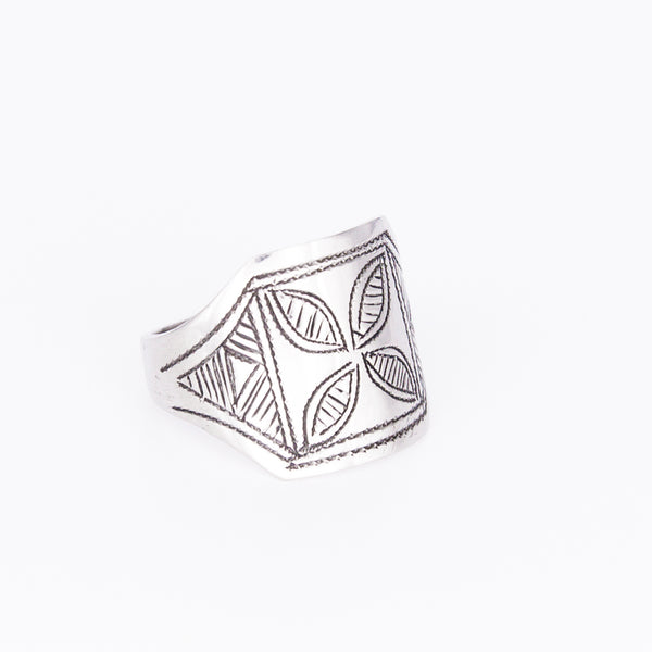 Tuareg Engraved Ring No.9 - Size N
