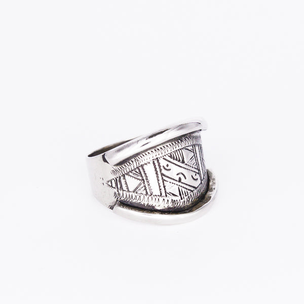 Tuareg Engraved Ring No.13 - Size O
