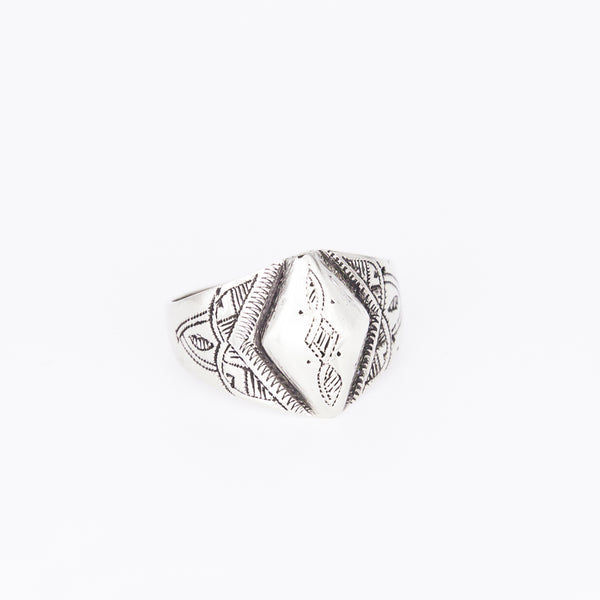 Tuareg Engraved Ring No.15 - Size U