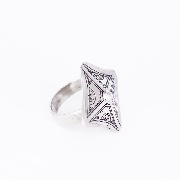 Tuareg Engraved Ring No.18 - Size T