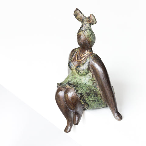 African Bronze Mama - Patricia in Olive