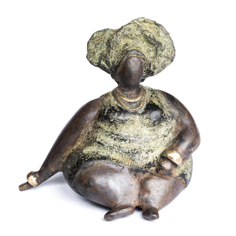 African Bronze Mama - Lydia in Olive