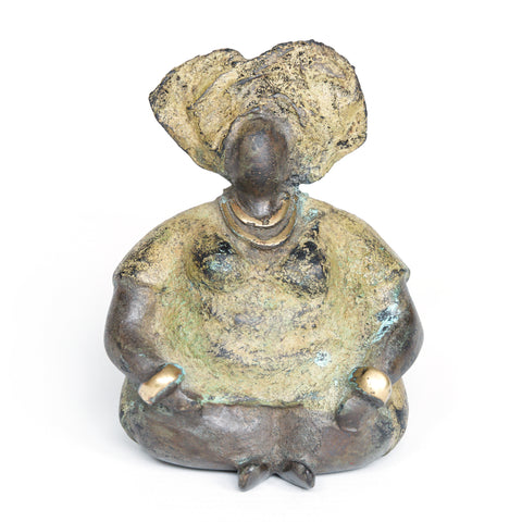 African Bronze Mama - Anita in Olive