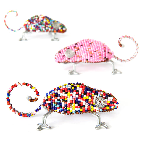 Happy Chameleons - Set of Three