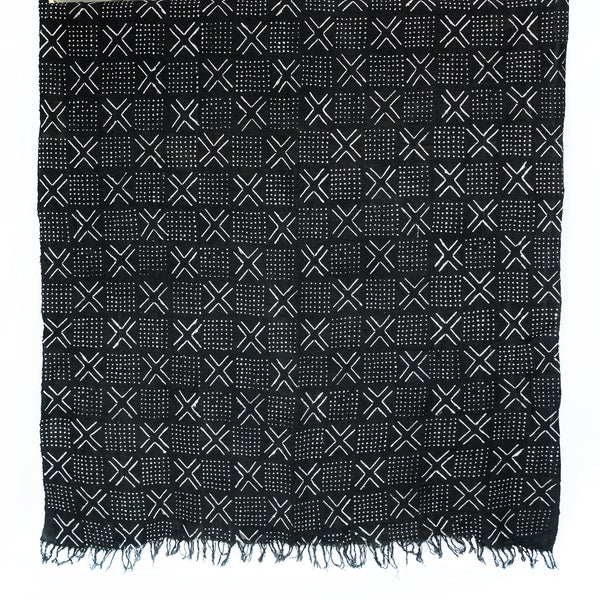 Mudcloth Throw - BAMBARA