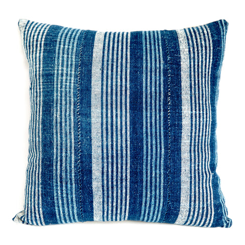 Fulani 2 - Indigo Cushion