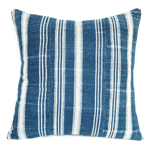 Fulani 3 - Indigo Cushion