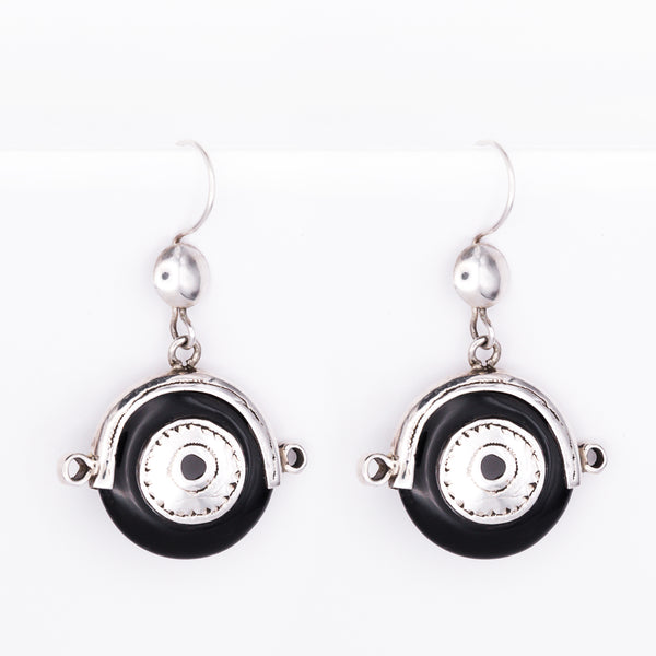Silver Tuareg Earrings - Nankani
