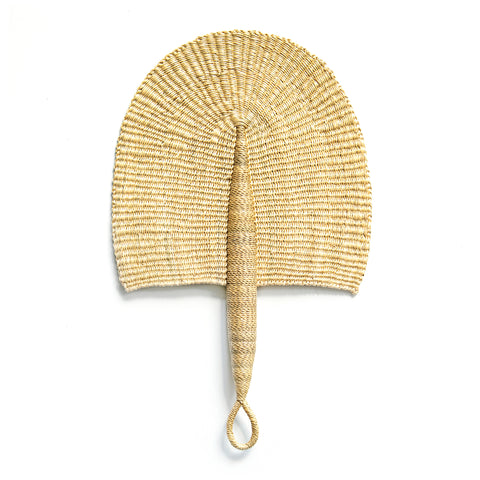 Bolga Shopping Basket L - NATURAL STRAW