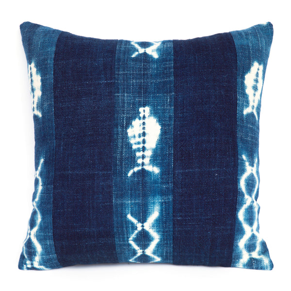 River Amou - Indigo Cushion