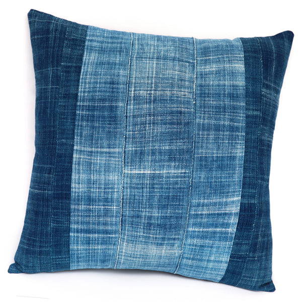 Shores of Niger - Indigo Cushion