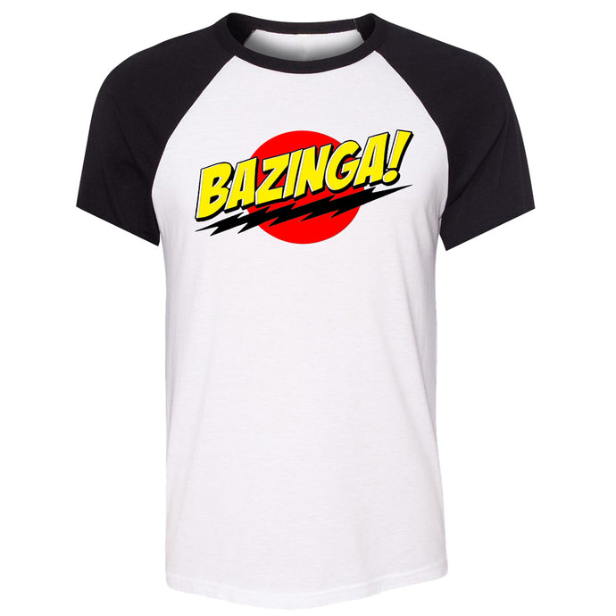 Bazinga TV show Big Bang Theory Men T-shirt