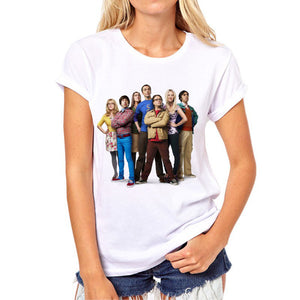 The Big Bang Theory Women  Casual Tshirt