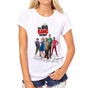 The Big Bang Theory Hottest TV Series T Shirt Women
