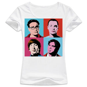 Big Bang Theory Warhol T-Shirt Women