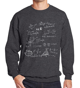Mens Mathematical Formula The Big Bang Theory fleece sweatshirt