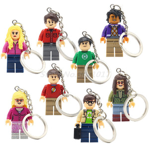 POGO THE BIG BANG Theory Figure Keychain