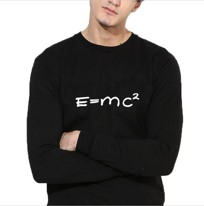 The Big Bang Theory sweatshirt men Math E MC2