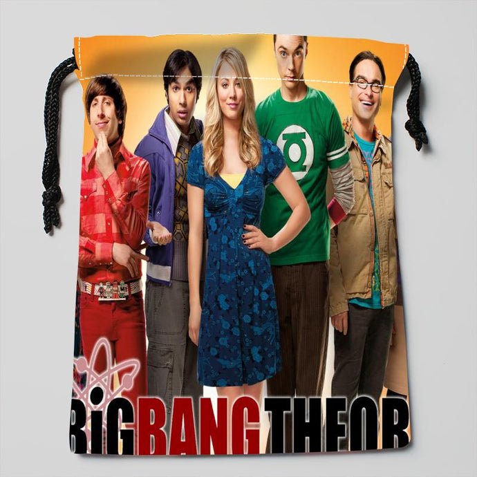 The Big Bang Theory drawstring bags