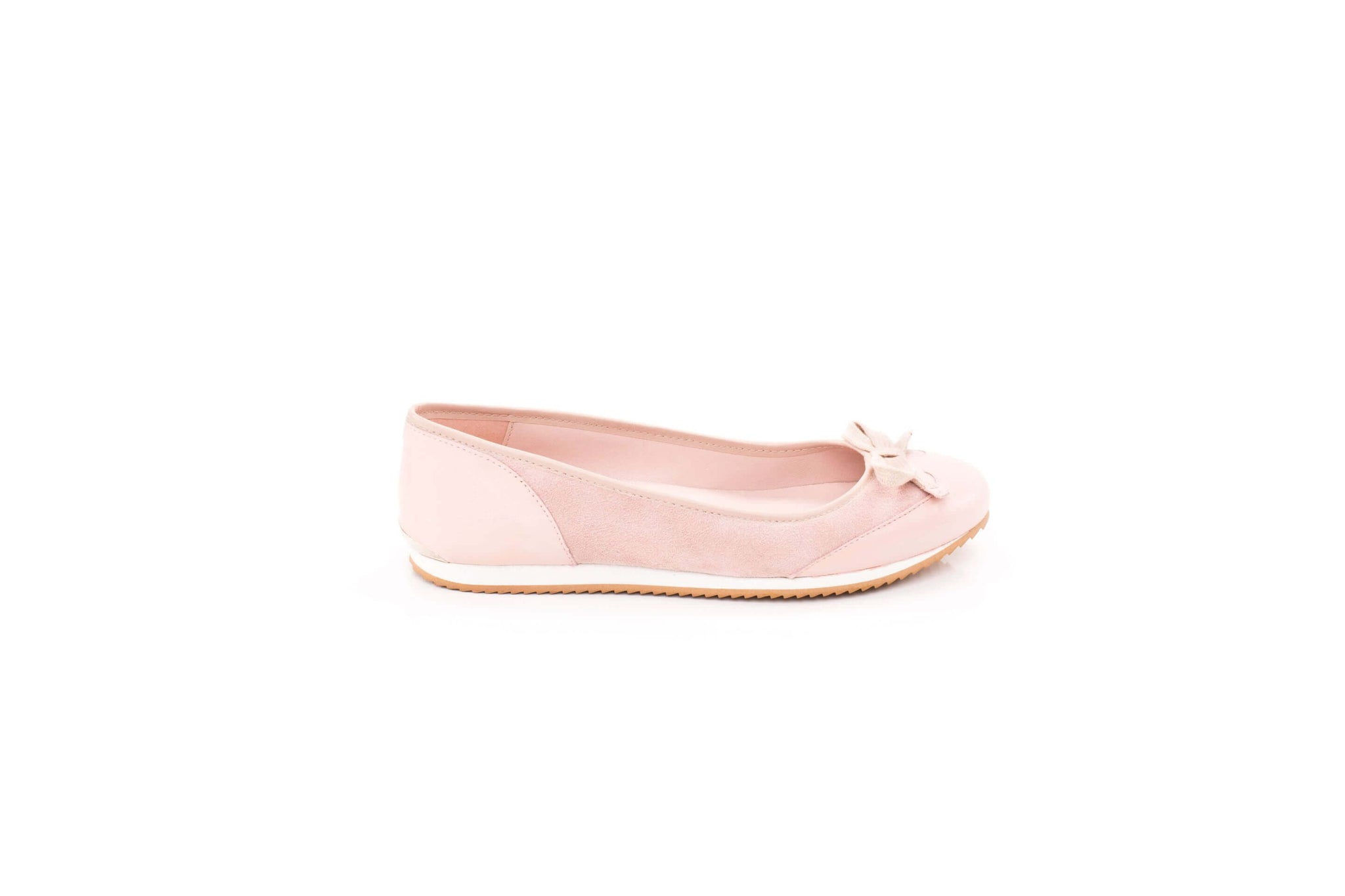 Blush or nude sneakerpump by Sloafer - the elegance and simplicity of a ballet pump, the comfort and support of a sneaker.