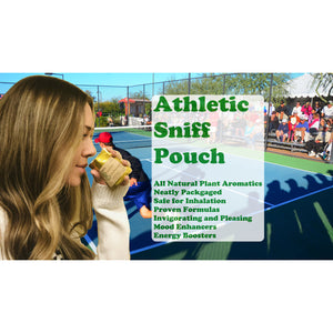 Athletic Sniff Pouch - 2 Pack