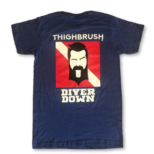 "NEW DROP! Limited Edition THIGHBRUSH ""Diver Down"" - Men's T-Shirt"