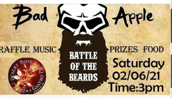 Bad Apple Battle of the Beards - February 6, 2021