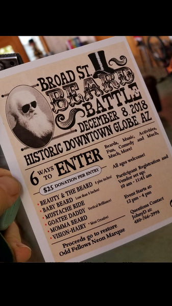 4th Annual Broad St. Beard Battle - Saturday, December 8, 2018