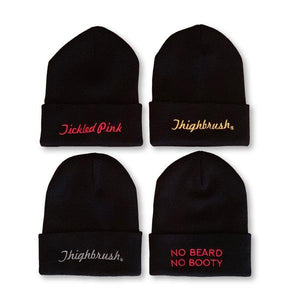BRAND NEW THIGHBRUSH® CUFFED BEANIES!