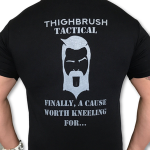"SUPER BOWL SUNDAY ONLY!  THIGHBRUSH TACTICAL ""Finally, a Cause Worth Kneeling For..."" SALE!"