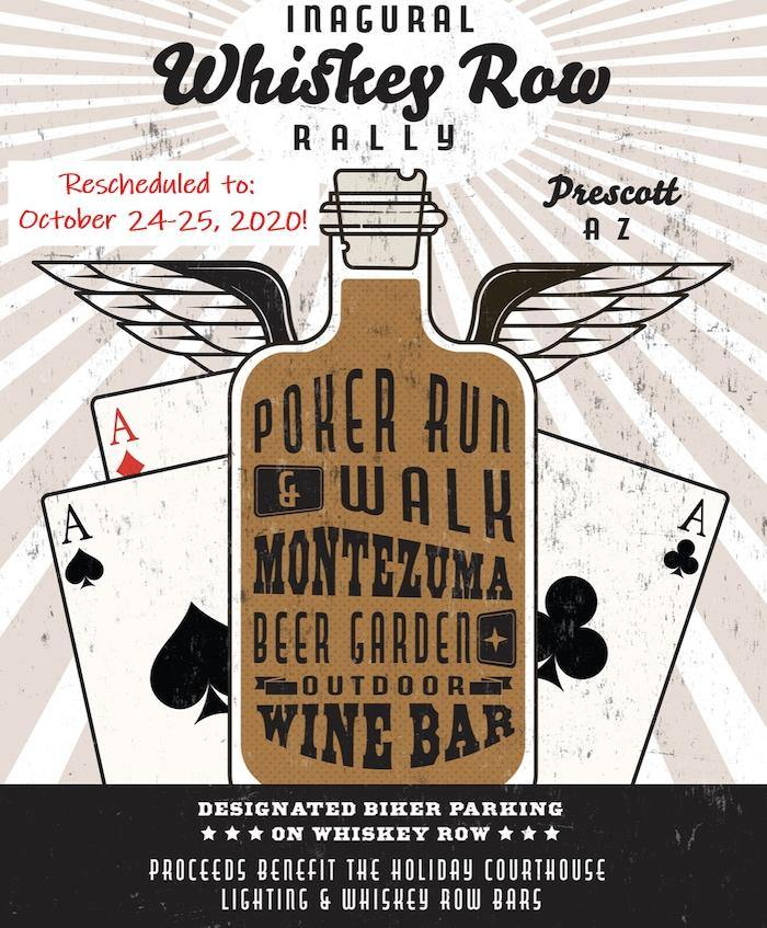 New Date!!  Inaugural Whiskey Row Rally - October 24-25, 2020 - Prescott, AZ - THIGHBRUSH®