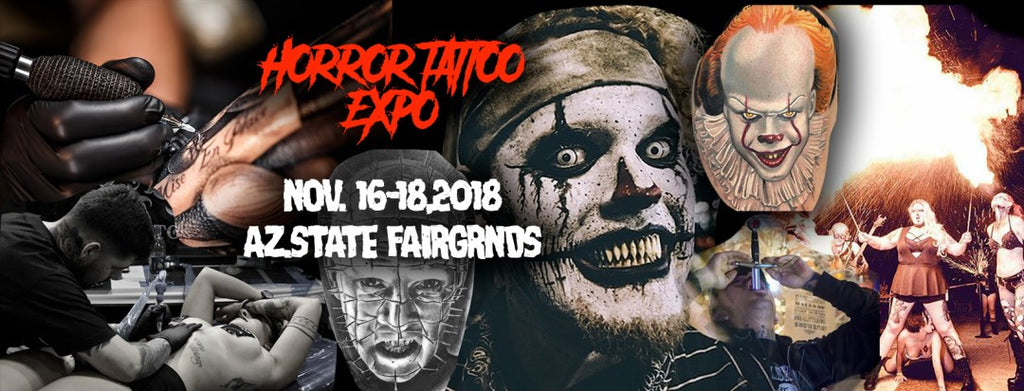 2018 Body Art Expo Phoenix - ONE HELL OF A TATTOO & HORROR SHOW - 11/16-11/18, 2018