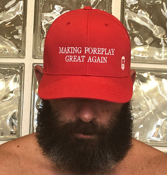 "THIGHBRUSH ""Making Foreplay Great Again"" Trucker Snapback Hat"