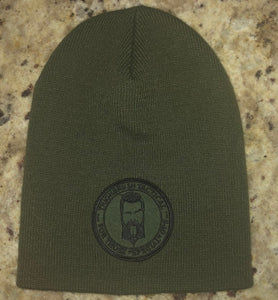 "THIGHBRUSH TACTICAL Beanies ""For Those Special Ops"" Patch on Front in  Black, Charcoal, Grey, Olive - Just $15.00 Each!"