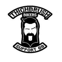 "THIGHBRUSH® BIKERS ""SUPPORT 69"" LOGO"