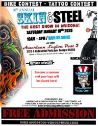 10th Annual Skin and Steel Show - January 18, 2020