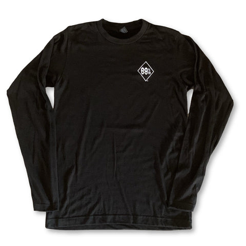 THIGHBRUSH® 69% ER DIAMOND COLLECTION - LONG SLEEVE T-SHIRT