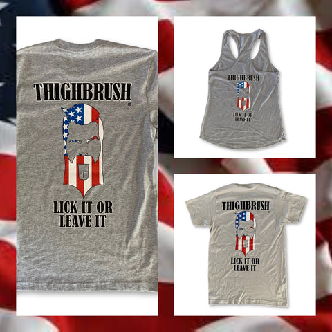 """THIGHBRUSH® """"LICK IT OR LEAVE IT"""""""