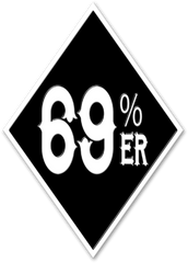 "THIGHBRUSH® ""69% ER DIAMOND COLLECTION"" LOGO"