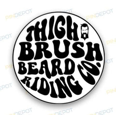THIGHBRUSH® BEARD RIDING COMPANY LOGO
