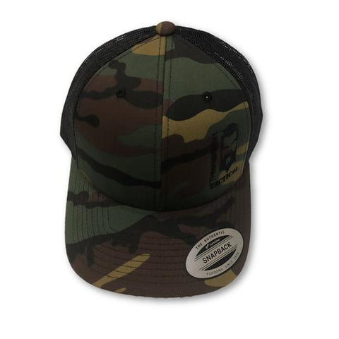 THIGHBRUSH TACTICAL - SNAPBACK HAT - DARK CAMO