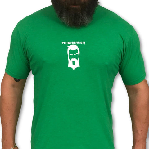 LIMITED EDITION - THIGHBRUSH® - XXX-MAS...For Your Ho-Ho-Ho's - Men's T-Shirt - Green and White