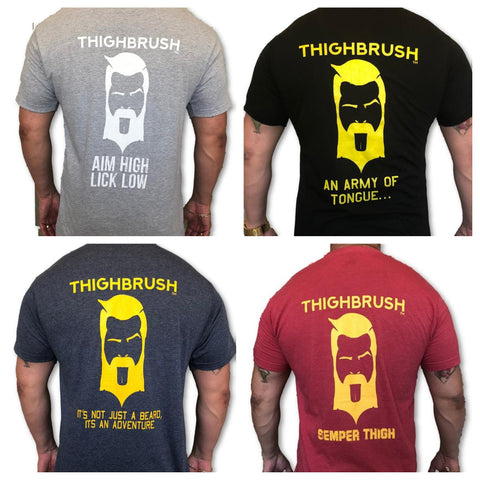 """THIGHBRUSH® TACTICAL """"Armed Forces"""" Collection  - Men's T-Shirts"""
