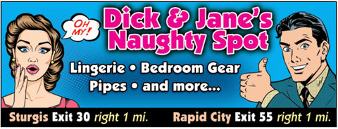 DICK AND JANE'S NAUGHTY SPOT